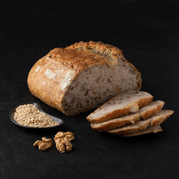 cevizli eea4 Turkish Sourdough Walnut Bread - 700g / 1.54lb