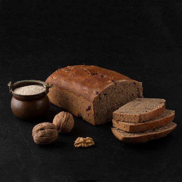 cevizli tam cavdar 4bce Turkish Sourdough Whole Rye with Walnut Bread - 900g / 1.98lb
