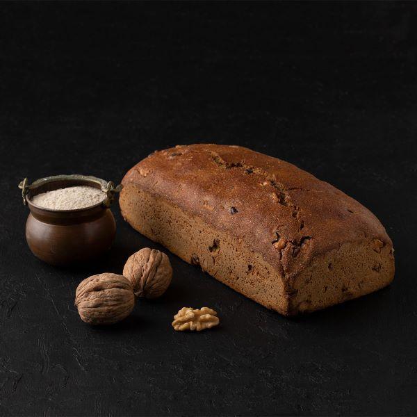 cevizli tam cavdar f62a Turkish Sourdough Whole Rye with Walnut Bread - 900g / 1.98lb