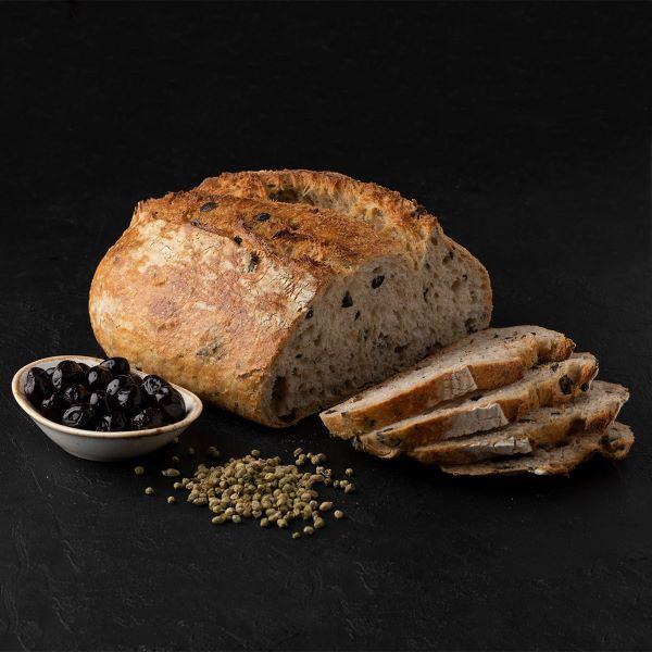 zeytinli 8580 Turkish Sourdough Bread with Olives - 700g / 1.54lb