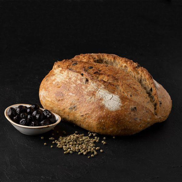zeytinli baf6 Turkish Sourdough Bread with Olives - 700g / 1.54lb