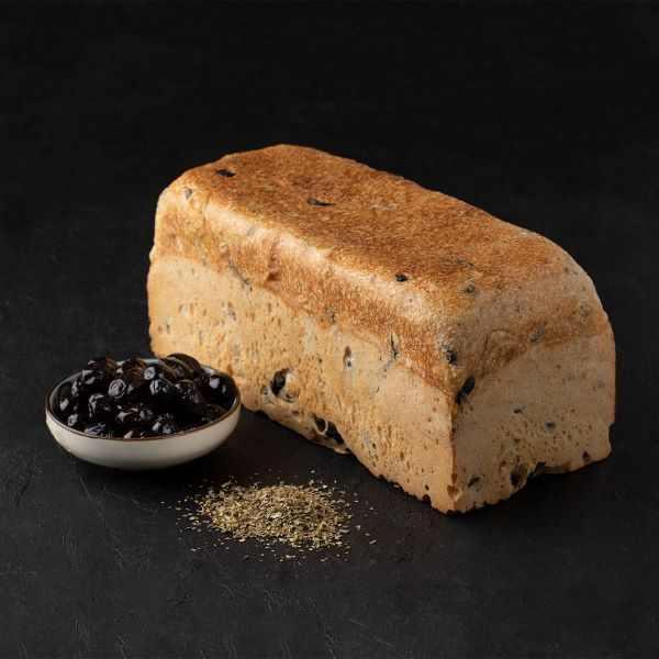 zeytinli tost cb90 Turkish Sourdough and Olive Toast Bread - 1000g / 2.20lb