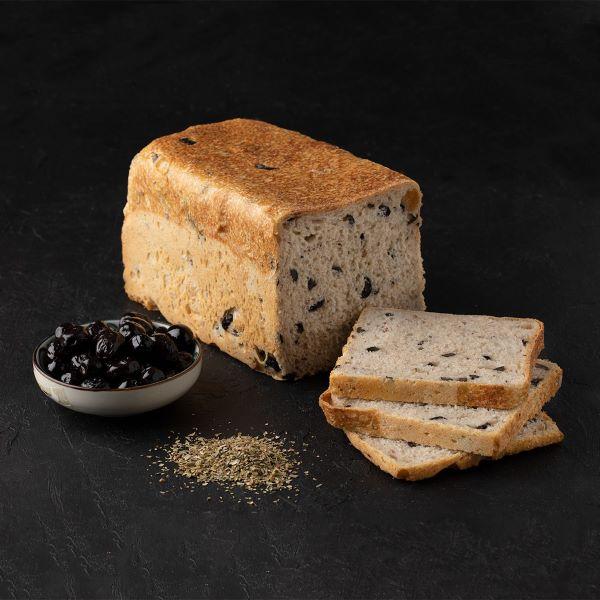 zeytinli tost d755 Turkish Sourdough and Olive Toast Bread - 1000g / 2.20lb