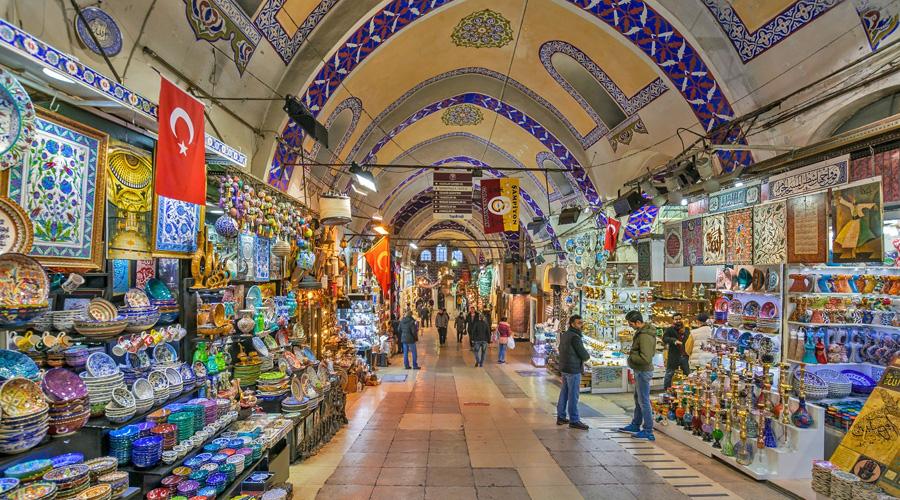 Turkish Istanbul Grand Bazaar