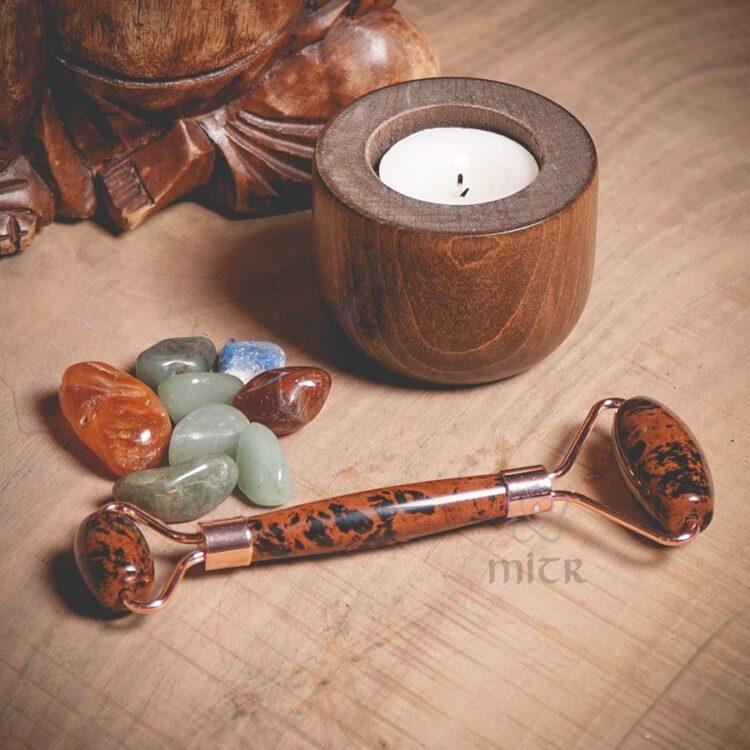 Turkish Obsidian Natural Stone Massager - Mitr