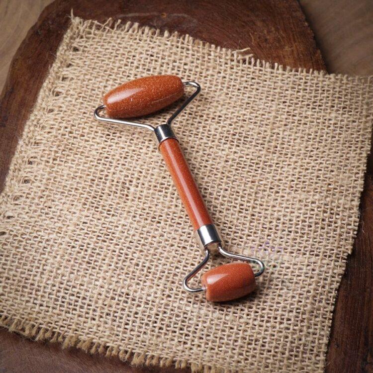 Turkish Star Stone Brown Natural Stone Massager - Mitr