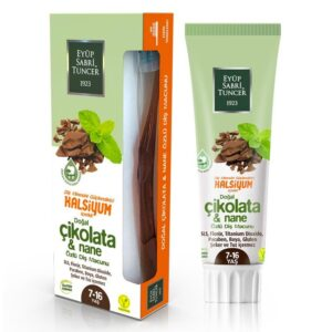 Natural Chocolate Mint Flower Toothpaste 75 ml (for Kids)