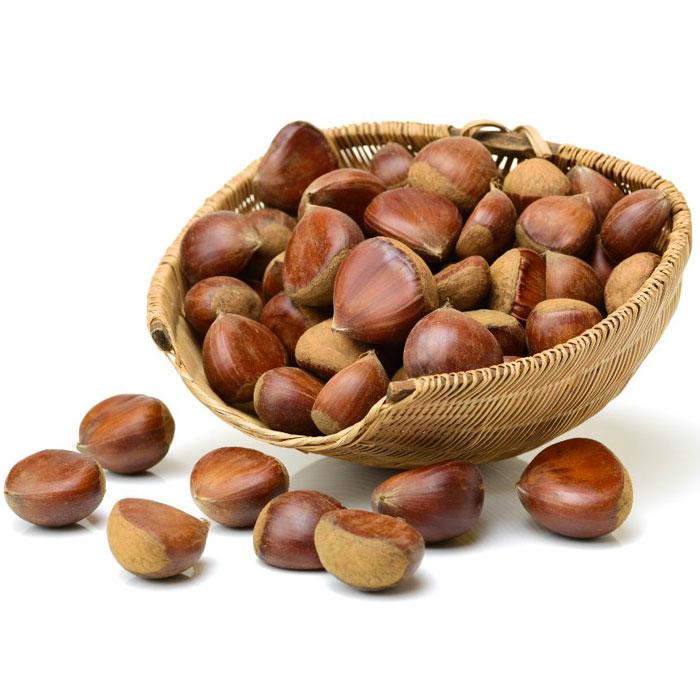 Turkish Natural Raw Chestnut (Kestane) - Large Size
