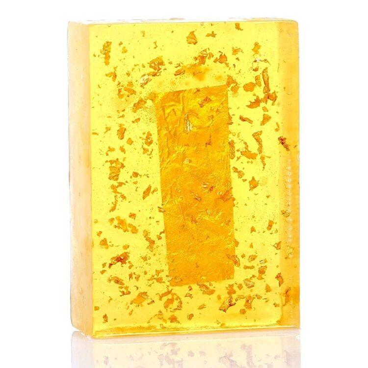 Turkish Natural Handmade Golden Soap (%100 REAL - 24 CARAT GOLD)