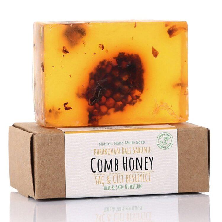 Turkish Natural Handmade Soap Comb Honey