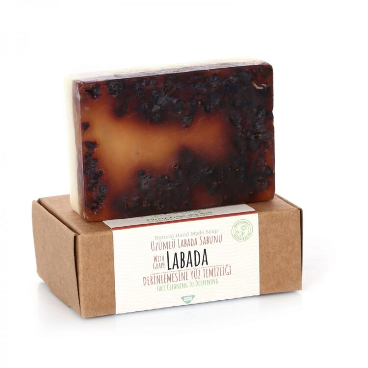 Turkish Natural Handmade Soap Grape Labada
