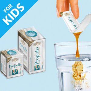 Turkish Propolis Water Extract for Kids (14 x 1.43ml) - Balparmak