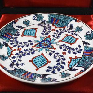Turkish Iznik Tile Ceramic Plate Handmade - Anatolia