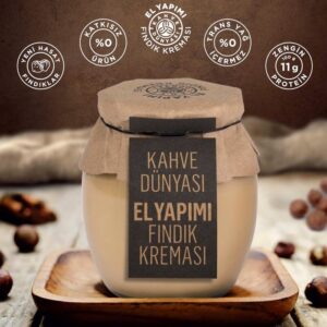Turkish Hazelnut Butter Cream - Natural Handmade