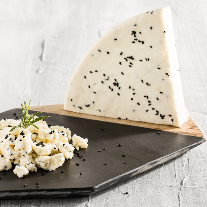 Turkish Natural Tulum Cheese Special with Black Seed (Erzincan)