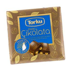 Turkish Chocolate Bar with Hazelnut - Torku