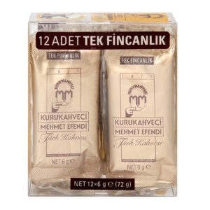 Mehmet Efendi Turkish Coffee 12x6g