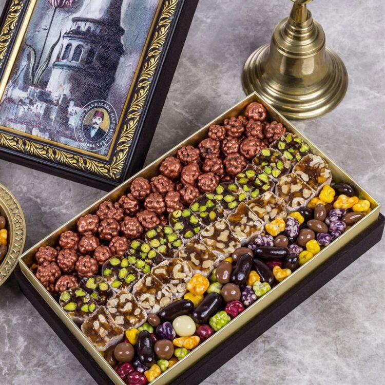 Assorted Turkish Delight, Dragee & Chocolate Special HM 1864 - Hafız Mustafa