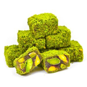 Turkish Delight with Pistachio and Honey