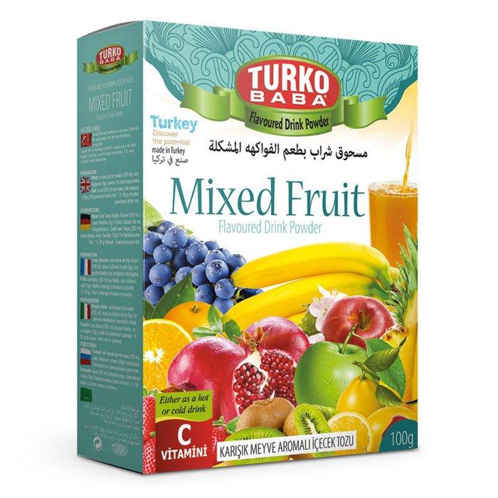 Turkish Mixed Fruit Powder Tea Oralet - Turko Baba