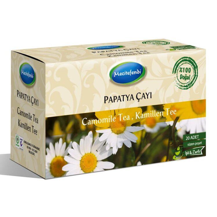 Turkish Natural Camomile Herbal Tea Bags (20 bags)