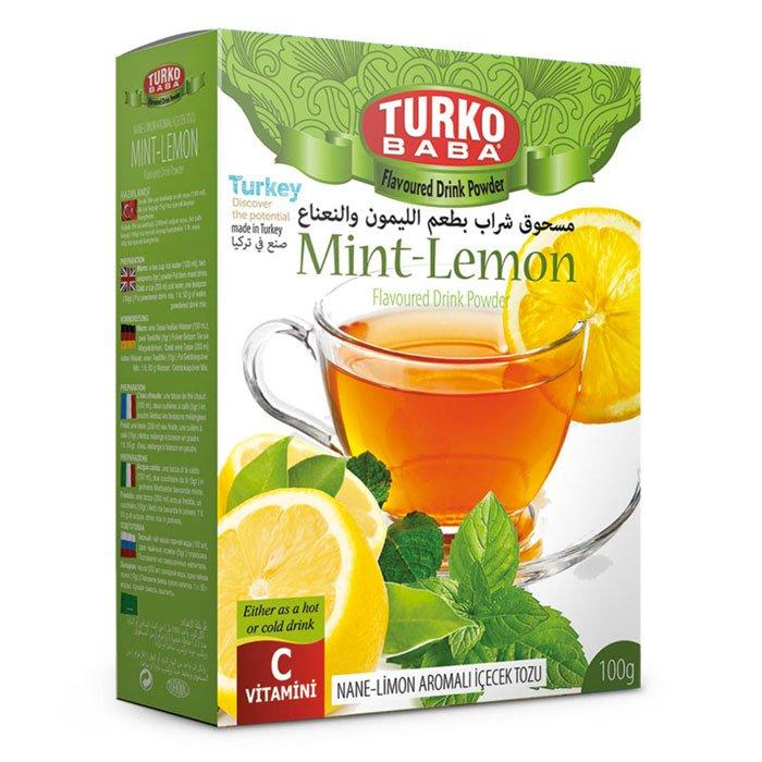 Turkish Mint Lemon Powder Tea Oralet - Turko Baba