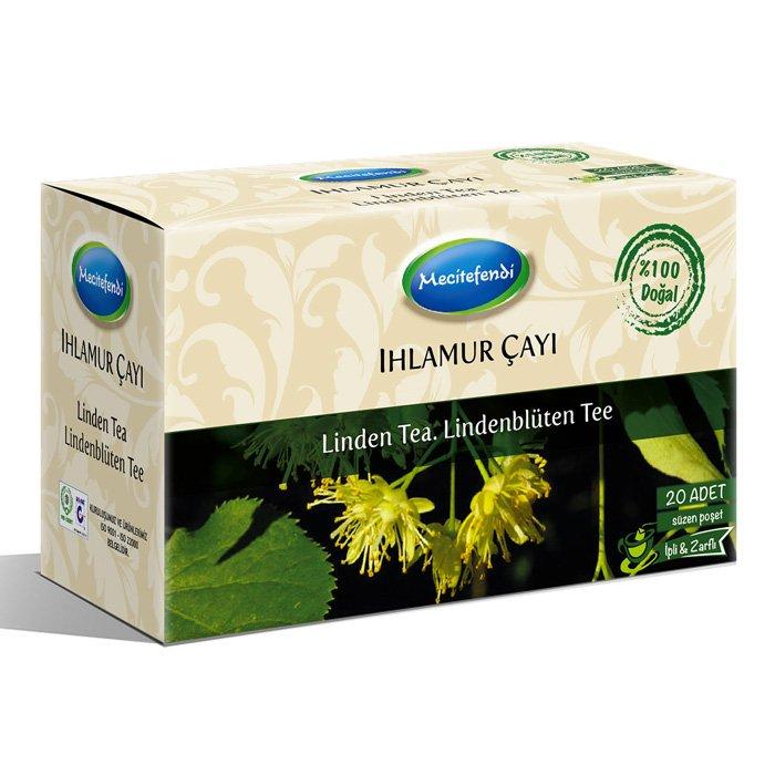 Turkish Natural Linden Herbal Tea Bags (20 bags)