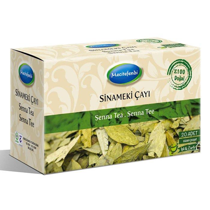 Turkish Natural Senna Herbal Tea Bags (20 bags)