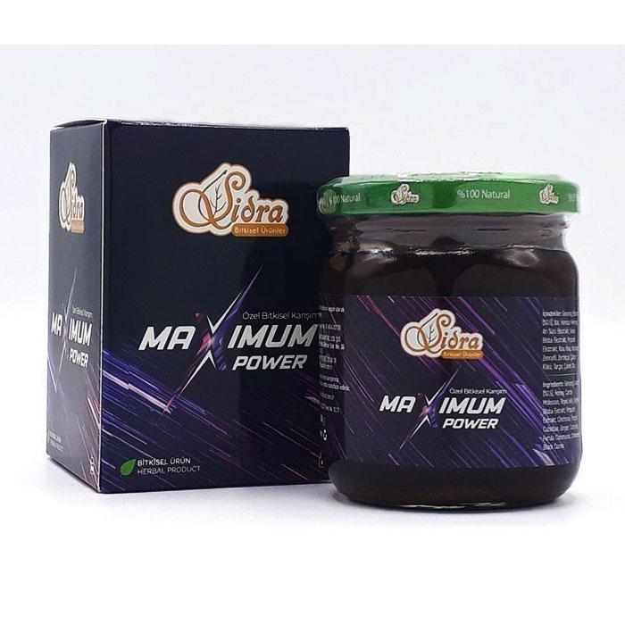 Turkish Sidra Maximum Power Mixed Herbal Paste 240g