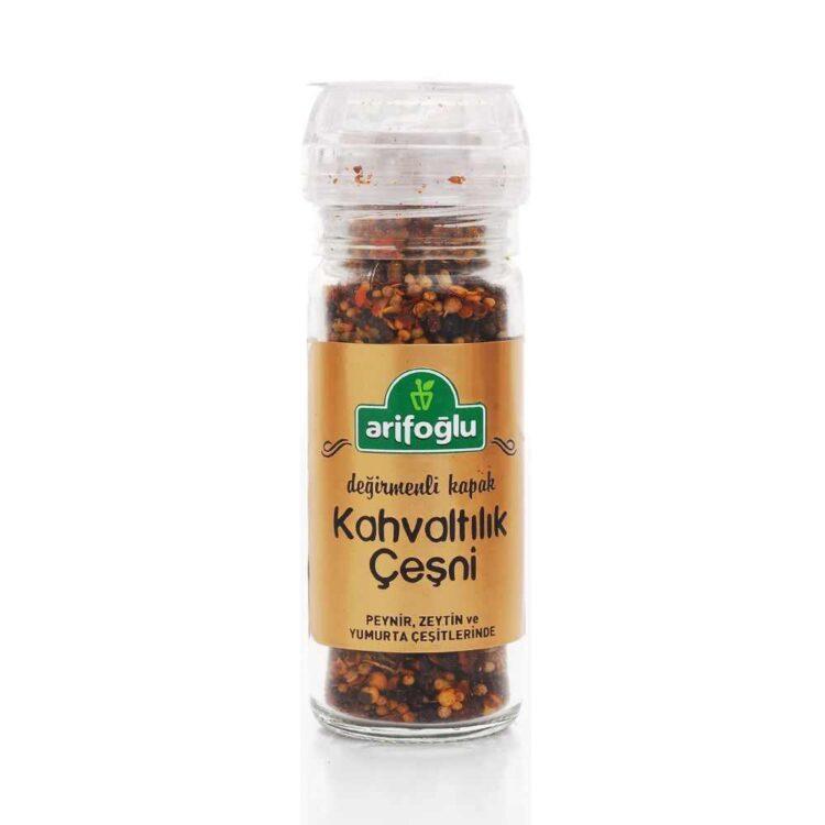 Arifoğlu Breakfast Condiment Spices Grinder Mill Cap 40g (1.41oz)