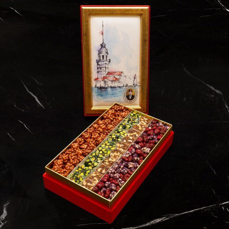 Assorted Turkish Delight and Dragee - Hafız Mustafa