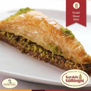 Carrot Slice Baklava with Pistachio-Fresh/Gulluoglu