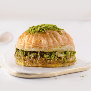 Turkish Pistachio Baklava Burger - Gulluoglu
