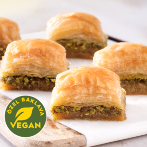 Vegan Turkish Baklava with Pistachio / Special - Gulluoglu