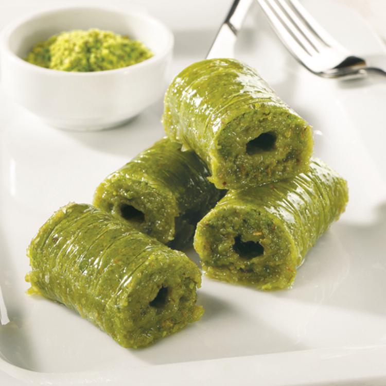 Wrap with Pistachio-Fresh / Gulluoglu