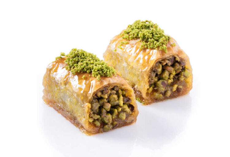 Rare Wrap Turkish Baklava with Pistachio - Gulluoglu