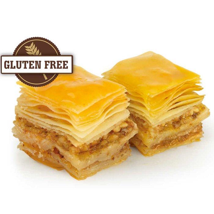 Gluten Free Turkish Baklava with Walnut/Gulluoglu