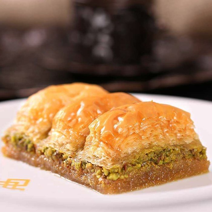 Turkish Baklava with Pistachio Classic