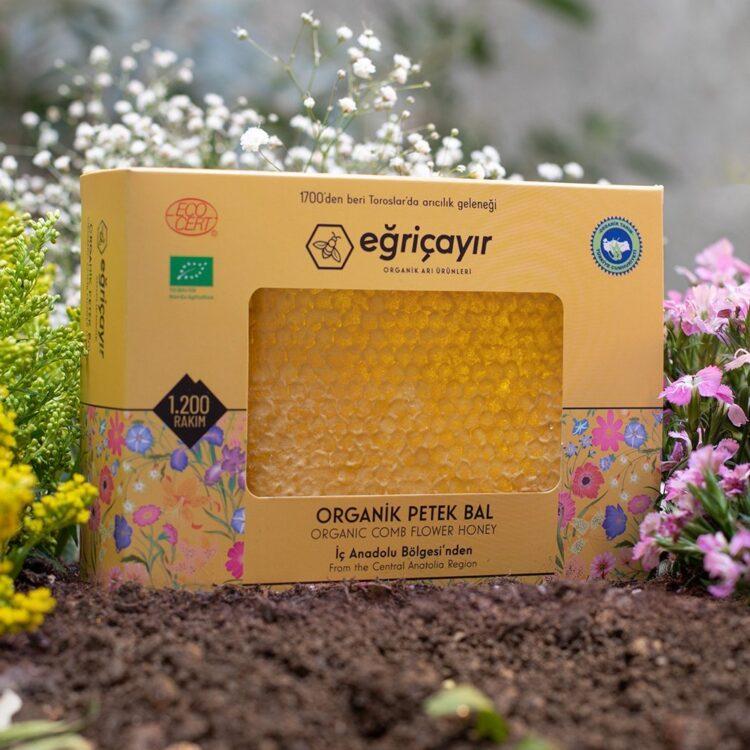 Turkish Natural Organic Honeycombs Honey - Eğricayır