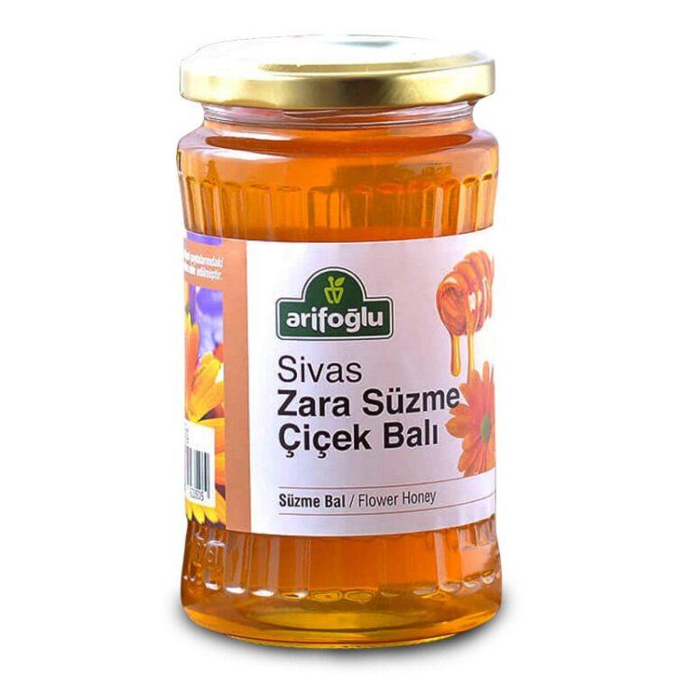 Turkish Honey - Sivas Zara Flower Honey (Strained)