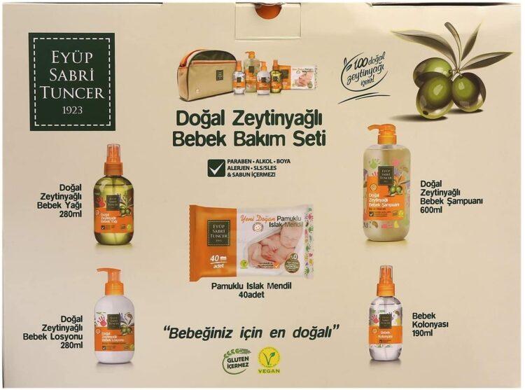 Turkish Natural Olive Oil Newborn Baby Care Set - Eyüp Sabri