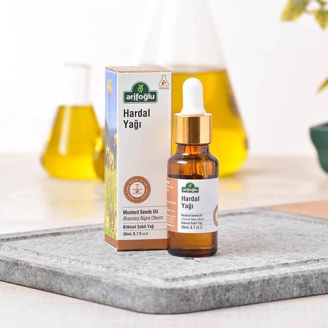 Turkish Mustard Seeds Natural Essential Oil