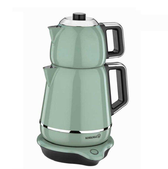 Turkish Electric Tea Maker (Demiks Turquoise)