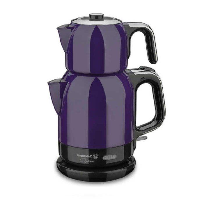 Turkish Electric Tea Maker (Tea Theme Lavender)