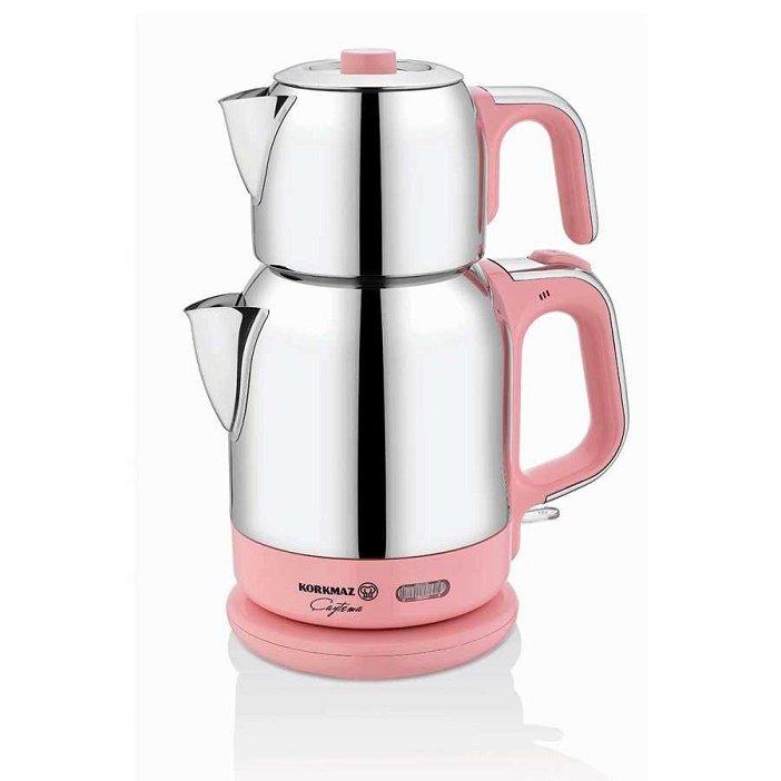 Turkish Electric Tea Maker (Tea Theme Pink)