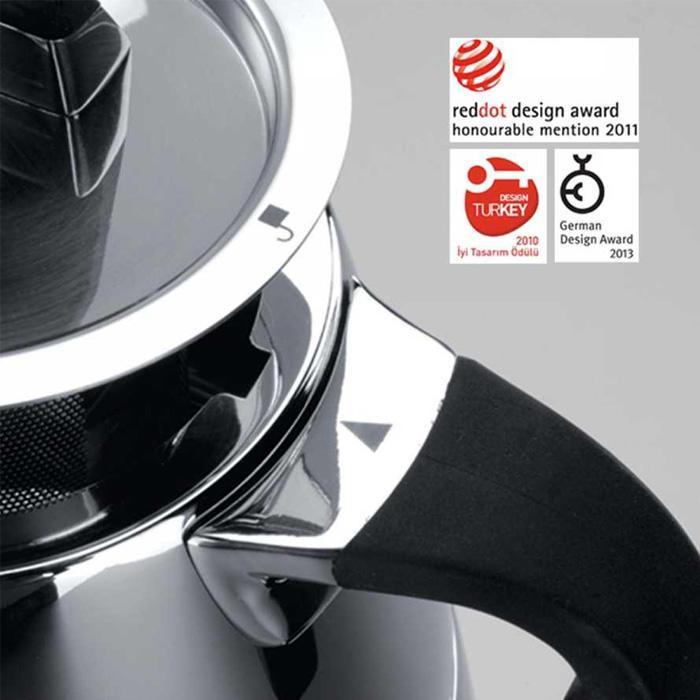 Turkish Teapot Stainless Steel Esta - Korkmaz