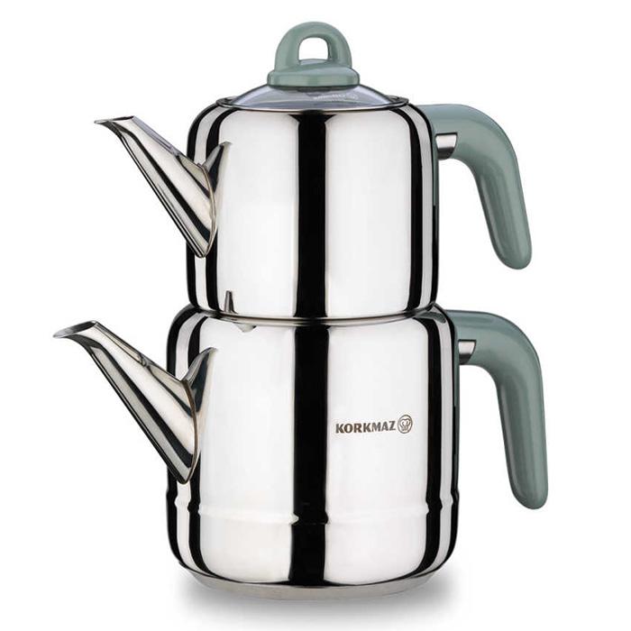 Turkish Teapot Stainless Steel Hera - Korkmaz