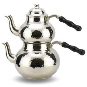 Turkish Copper Tea Pot Handcrafted - Anatolia