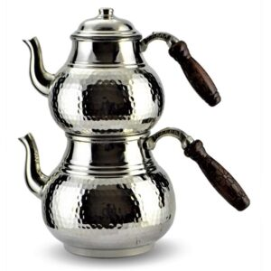 Turkish Copper Tea Pot Handcrafted - Beyazid