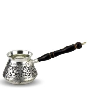 Turkish Copper Coffee Pot Handcrafted - Sedef